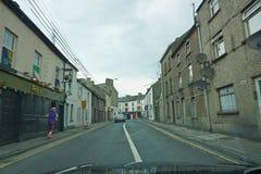 Ierse straatscène Stock Foto