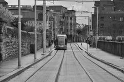 Ierse vervoermetro royalty-vrije stock foto