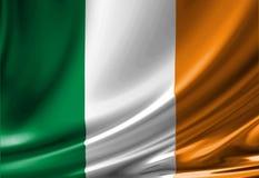 Ierse vlag Royalty-vrije Stock Foto