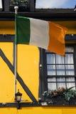 Ierse vlag stock afbeeldingen