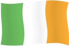 Ierse vlag Royalty-vrije Stock Afbeeldingen