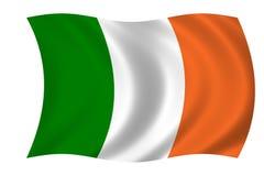 Ierse vlag Stock Afbeelding