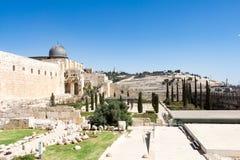 IERUSALIM antico Tempio Immagini Stock