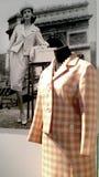 IES de la mode 60 du 20ème siècle Exposition d'Alexander Vasiliev Images libres de droits