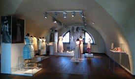 Ies för mode 60 av det 20th århundradet Utställning av Alexander Vasiliev Royaltyfri Fotografi