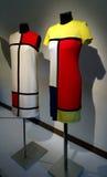 Ies för mode 60 av det 20th århundradet Utställning av Alexander Vasiliev Arkivbild