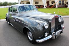 Iev, Ukraine; Am 26. September 2014 Rolls Royce stockfoto