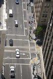 Iew du dessus de toit à San Francisco Photo libre de droits