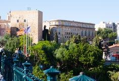 Iew of Tarragona with Palace of Pretori Roma Royalty Free Stock Photos