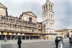 Free Iews Of The Medieval Square Trento-Trieste Famous For Its Cathed Royalty Free Stock Photography - 93604817