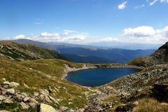 Travel to Romania: Iezer glacial lake Stock Images
