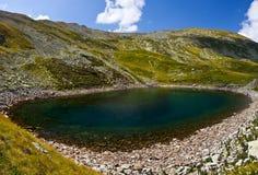 Iezer Lodowiec jezioro - panorama obraz stock