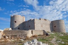 If castle (circa 1531). Marseilles, France Royalty Free Stock Images