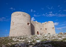 If castle (circa 1531). Marseilles, France Royalty Free Stock Photography