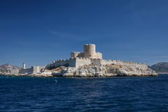 If castle. Near Marseille, France Stock Image
