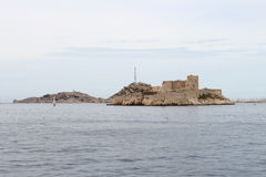 If Castle upon the rocks, Marseille, France Royalty Free Stock Photography