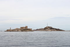 If Castle upon the rocks near Marseille, France Royalty Free Stock Images