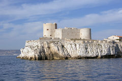 If island in front of Marseille Royalty Free Stock Photo