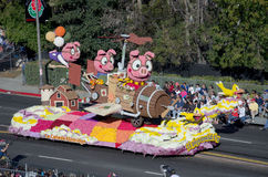 If pigs could fly Rose Parade float Stock Photos