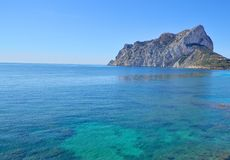 Ifach Crag Royalty Free Stock Image
