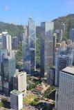 IFC的香港,中国视图 库存照片