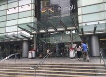 IFC购物中心入口,香港 库存图片