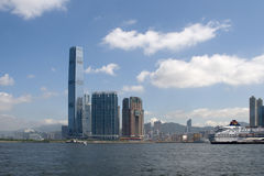 IFC em Hong Kong Imagem de Stock