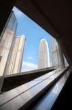 IFC, Hong Kong-wolkenkrabber royalty-vrije stock afbeelding