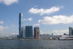 IFC in Hongkong Stock Afbeelding
