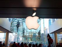 IFC Mall: Apple Store Royalty Free Stock Images