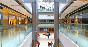 Ifc mall, hong kong. Interior view of ifc mall, a popular landmark located at central, hong kong Royalty Free Stock Images
