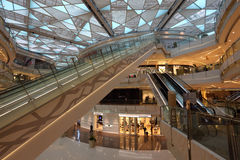 IFC Mall in Shanghai, China Royalty Free Stock Photography