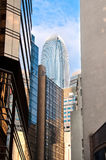 IFC and office buildings, Hong Kong Stock Photo