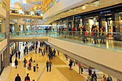 Ifc shopping mall, hong kong Royalty Free Stock Photos