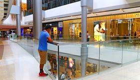Ifc shopping mall, hong kong. Busy visitors at the ifc mall, a prominent landmark located at central, hong kong island Royalty Free Stock Photography