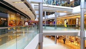 Ifc shopping mall, hong kong. Interior view of ifc mall, a prominent landmark located at central, hong kong island Royalty Free Stock Image