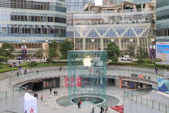 Ifc shopping mall Pudong Shanghai China Stock Images