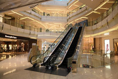 IFC Shopping Mall in Shanghai Stock Images