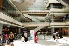IFC-Wandelgalerij van Hong Kong Stock Foto