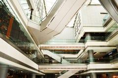 IFC-Wandelgalerij van Hong Kong Royalty-vrije Stock Afbeelding