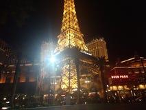 Ifel tower the Vegas strip version stock photos