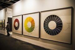Ifema. Begin met 2014 ARCO, Internationaal Eigentijds Art Fair Royalty-vrije Stock Afbeeldingen