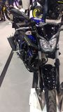 Ifema-moto Stand Lizenzfreies Stockfoto