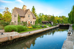 Iffley Lock. Oxford,  England Stock Photography