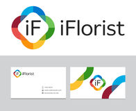 IFlorist logo Royalty Free Stock Photography