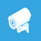 Ifrared cctv Stock Image