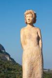 Ifromeze da escultura da mulher imagem de stock