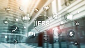 IFRS sprawozdawczo?ci finansowej standard?w przepisu Mi?dzynarodowy instrument fotografia royalty free