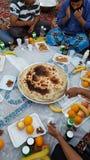 Iftar党在吉达沙特阿拉伯 免版税库存图片