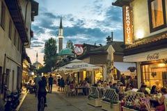 Iftar dinner in Sarajevo, Bosnia Stock Photos